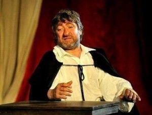 Pere Arquillué com a Cyrano de Bergerac.