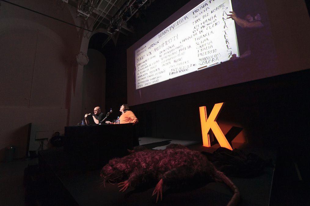 Àlex Rigola i Pablo Ley al Kosmopolis 2013 - Fotografia de CCCB/Carlos Cazurro
