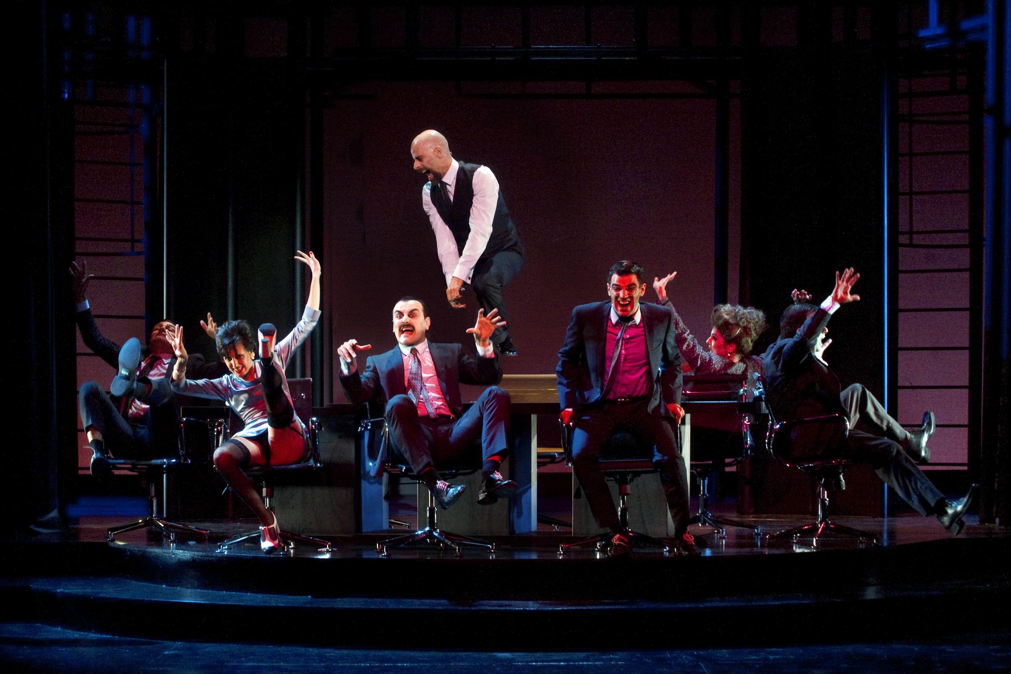 Frank V (Opereta d'una banca privada) - Teatre Lliure - (c) Ros Ribas