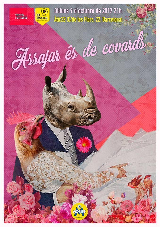 Assajar és de covards - (c) Oscar Jarque